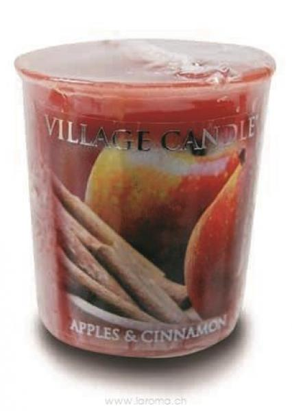 Apples Cinnamon Votivkerze