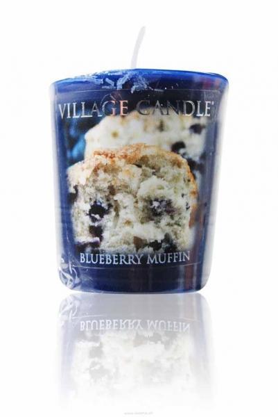 Blueberry Muffin Votivkerze