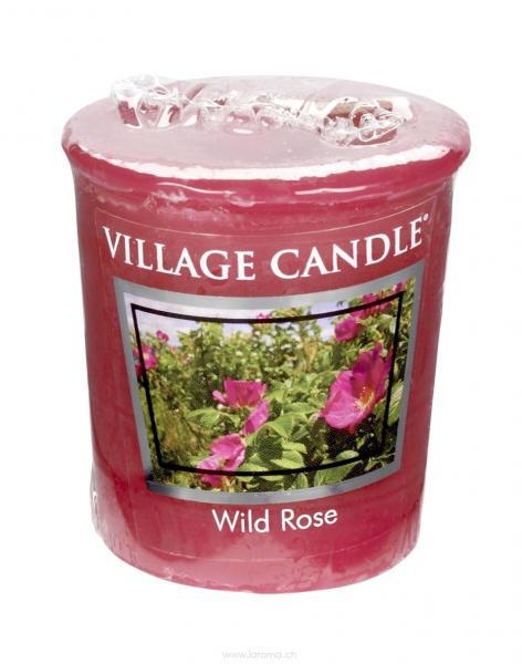 Wild Rose Votivkerze