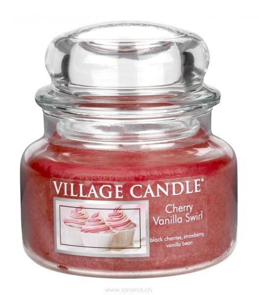 Cherry Vanilla Swirl 11oz 2-Docht Village Candle