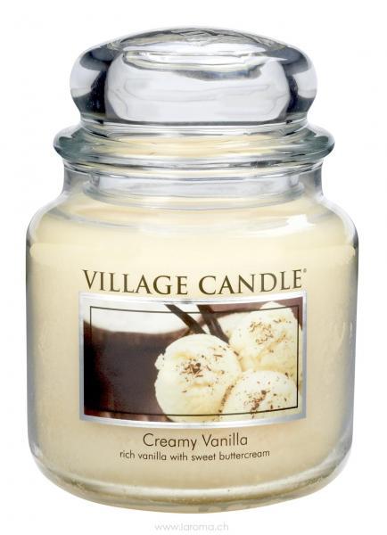 Creamy Vanilla 16 oz Glas (2-Docht)