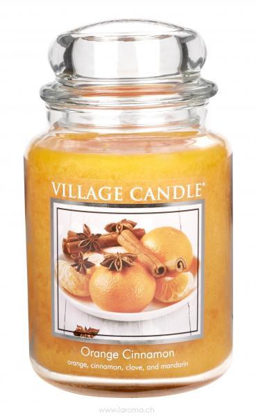Orange & Cinnamon 26 oz Glas (2-Docht)
