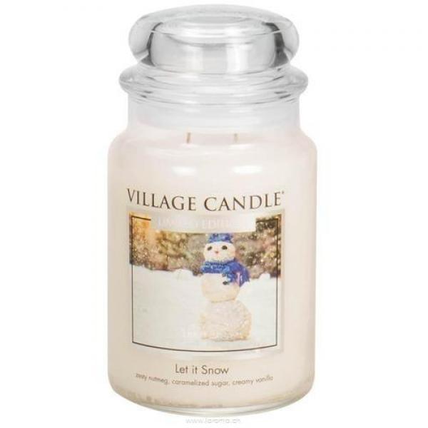 Let it Snow 26oz 2-Docht Village Candle