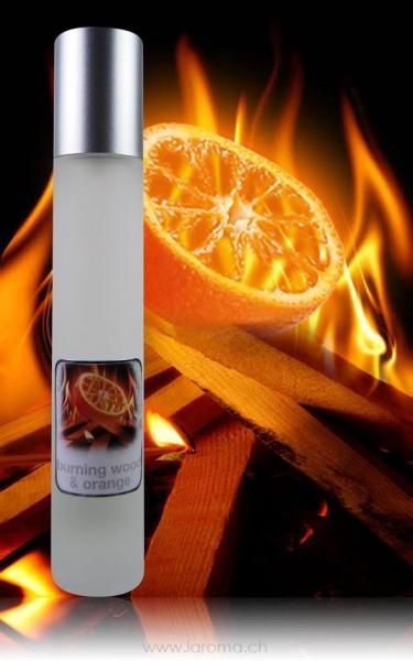 Fresh Raumspray Burning Wood & Orange 100ml