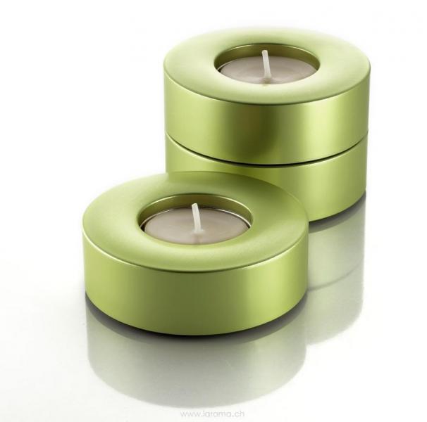 Candela lime Teelichthalter in edlem Design