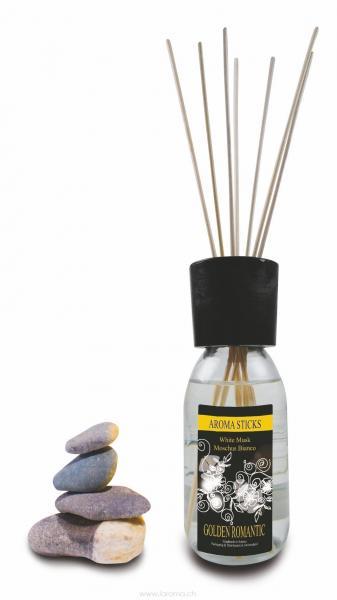 Moschus Bianco White Musk Aromasticks 125 ml