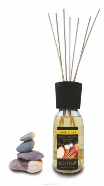 Moschus Bianco Aromasticks 200 ml Golden Romantic