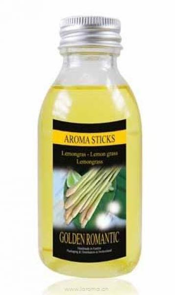Lemongras Nachfüllflasche125 ml Golden Romantic