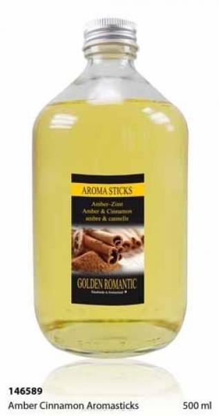 Amber Cinnamon Nachfüllflasche 500 ml