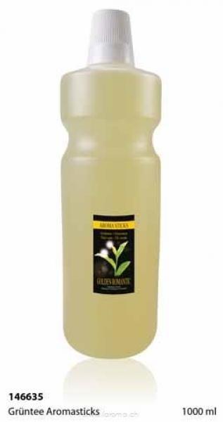 Grüntee Aromasticks 1000 ml (Glas-Flasche)