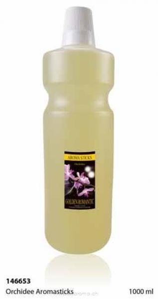 Orchidee Aromasticks 1000 ml (Glas-Flasche)