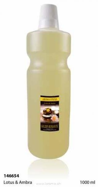 Lotus & Ambra 1000 ml (Glas-Flasche)