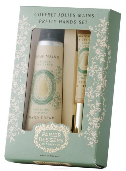 Mandel Manicure-Duo Geschenkset Panier des Sens
