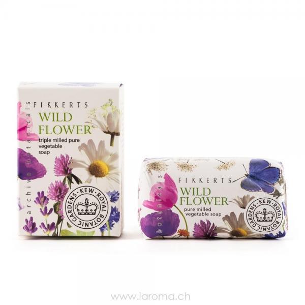 Wildblume pflanzliche Seife 100g RBG