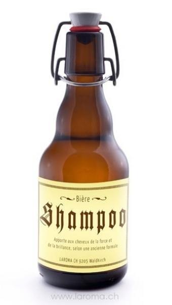 Bière Shampoo (320ml) Etiquette francais